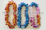 Single Leis: Dyed Dendrobium